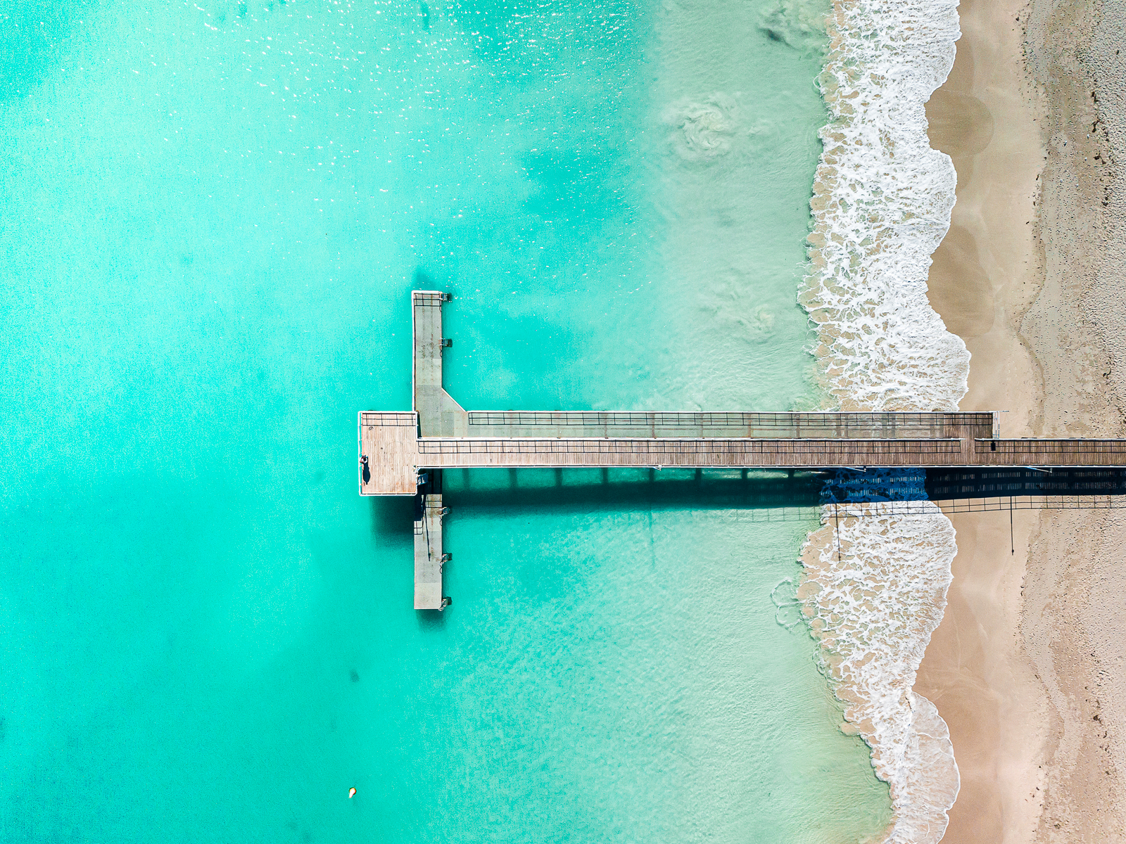 cogee beach drone photography