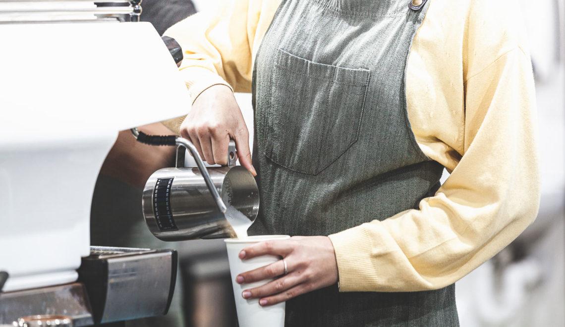Coffee-shop, flat White, mon bonheur à Esperance, Western Australia
