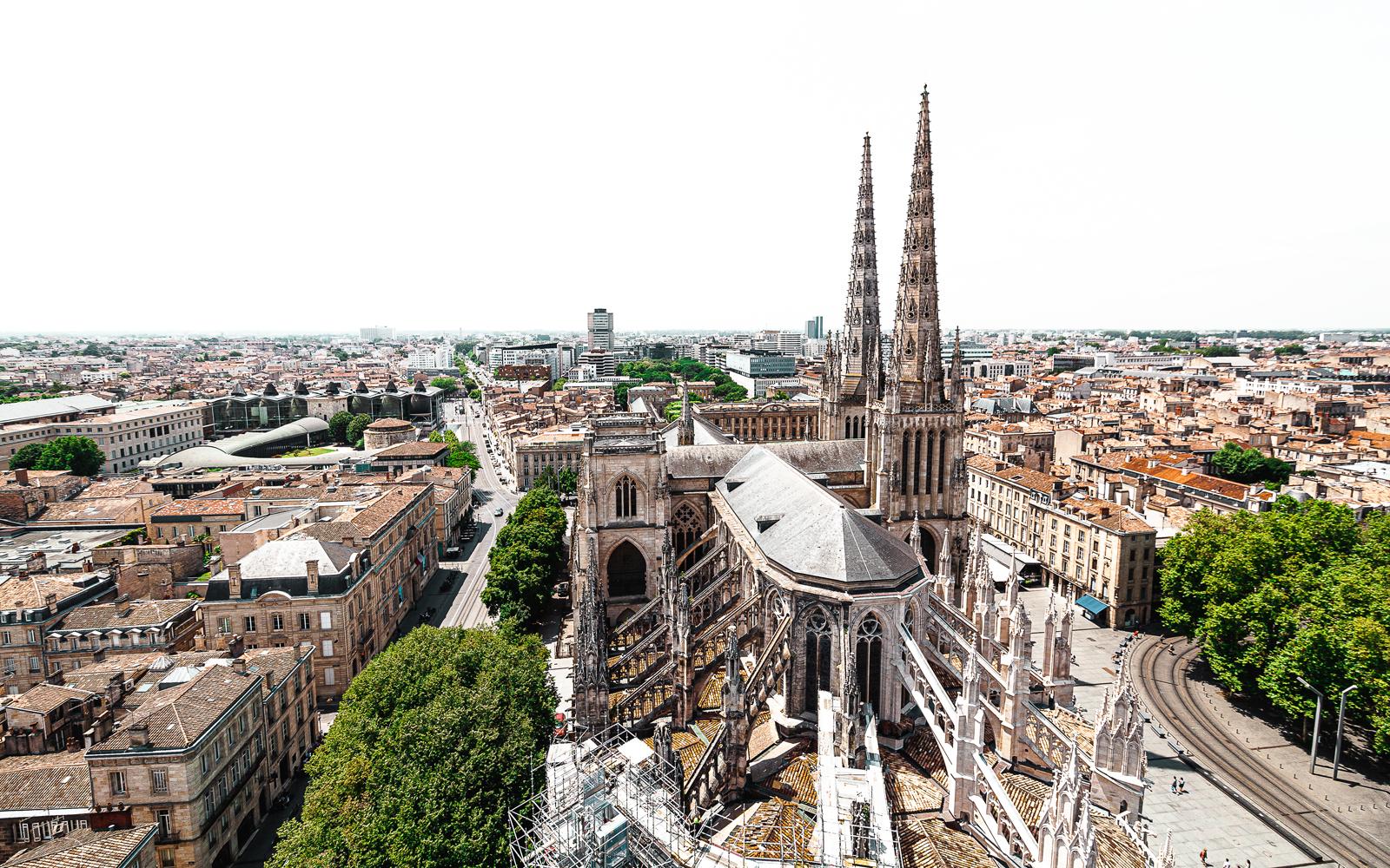 Bordeaux, France, Place Pey-Berland